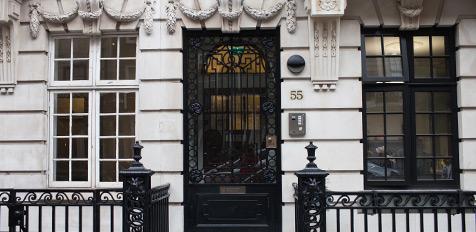 harley street door